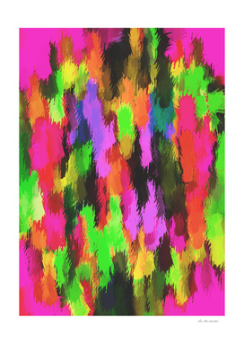 pink red purple black orange and green painting texture