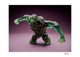 023 Low Poly Green Troll