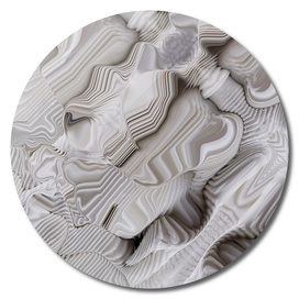 Folded white