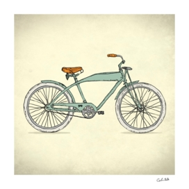twin Retro-bicycles
