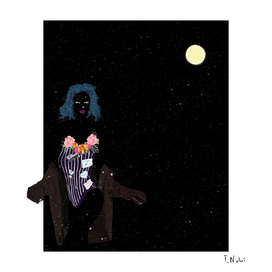 Dark as the night