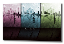 Taj Mahal triptych