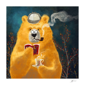 tea time of bear