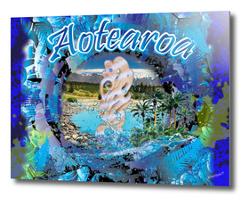 New Zealand Aotearoa Tribal 3D Digital Design