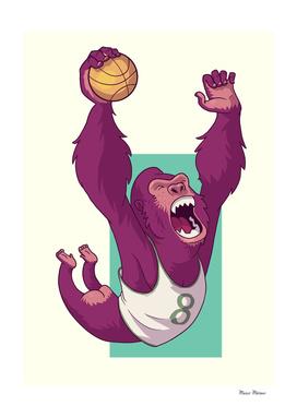 Basketball Gorilla