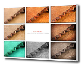 BoomGoo's Fatehpur Sikri stairs (8 tones)