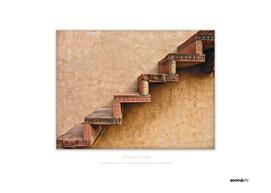 BoomGoo's Fatehpur Sikri stairs (intensified detail)