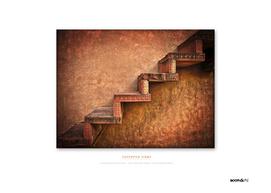 BoomGoo's Fatehpur Sikri stairs (junglefever)