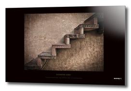 BoomGoo's Fatehpur Sikri stairs (brown contrast)