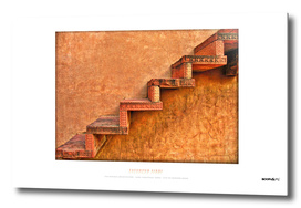 BoomGoo's Fatehpur Sikri stairs (HDR)