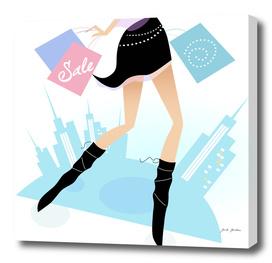 Ladies model Legs : Portrait edition