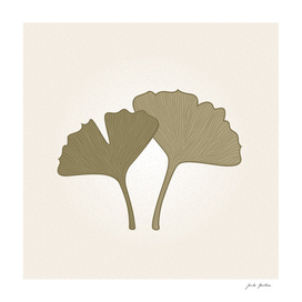 Gingko leaves : Original authors artwork