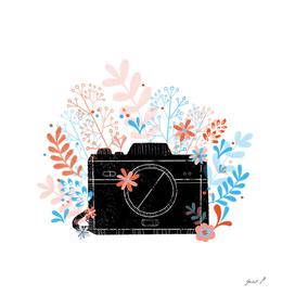 Camera Floral