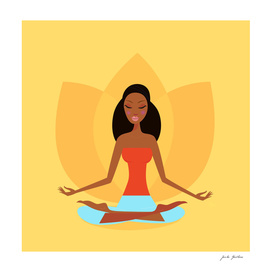 Wellness girl : making meditation / New art