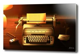 The Shining Without Anyone_typewriter