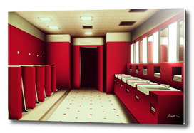 The Shining Without Anyone_restroom
