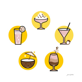 Designers vintage Cocktail ICONs