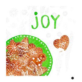 Christmas cookies. Joy.