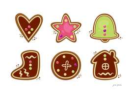 New art in shop : Brown cookies