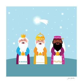 Three kings : new Kids artwork