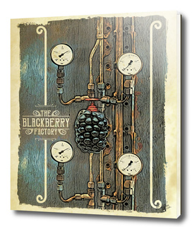 The Blackberry Factory Steampunk Art