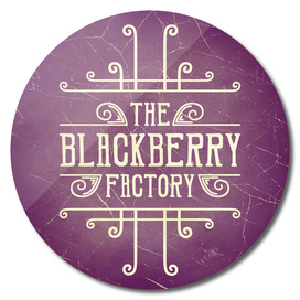 The Blackberry Factory Typographic Steampunk Art
