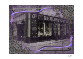 The Blackberry Factory Scene Steampunk Art