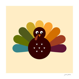 New turkey in shop : hand-drawn Art