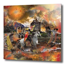 Scottish Castles Knight on Horse