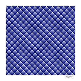 Ultramarine Geometric Rhomboid Pattern