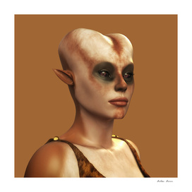 Ursila: An Alien Portrait