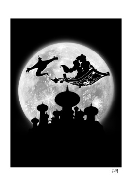 Full moon over Agrabah