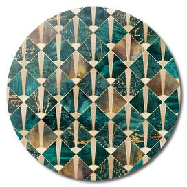 Art Deco Tiles - Ocean