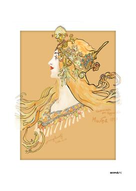 Mucha 1897 style savonnerie (poster 3b)