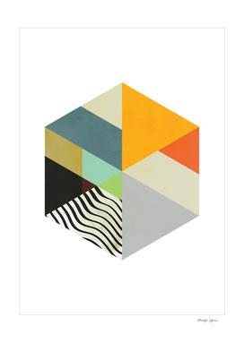 Hexagonal Collage