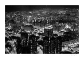 Nightscape of Hong Kong