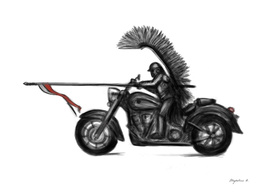 Hussar - motorcycle