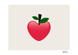 pomme coeur