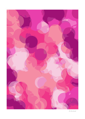 psychedelic circle pattern abstract in pink and purple