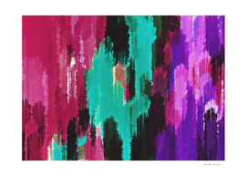 purple pink green black abstract painting background