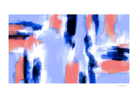 pink and blue abstract painting background