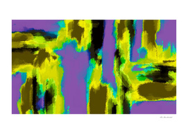 yellow purple blue black abstract painting background