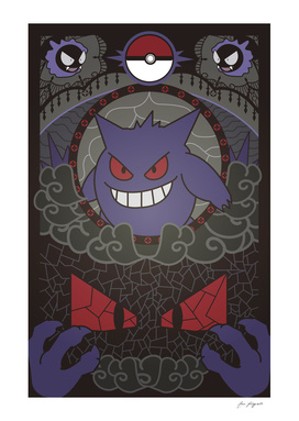 Stained Glass Gengar