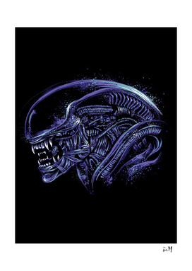 Space Nightmare purple