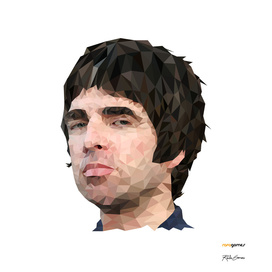 Noel Gallagher Low Poly