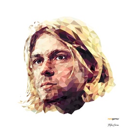 Kurt Cobain Low Poly