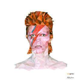 David Bowie Low Poly
