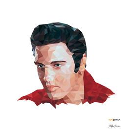 Elvis Presley Low Poly
