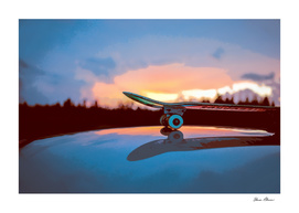 CURIOOS Skateboard Reflections