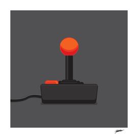 Vintage Video Game Joystick